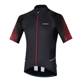 Shimano Mirror Cool Jersey Men Black/Red
